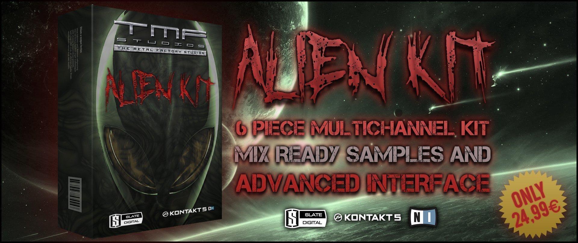 Alien Drum Kit